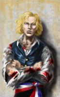 "Enjolras: ""Shoot me."" by ColonelDespard"