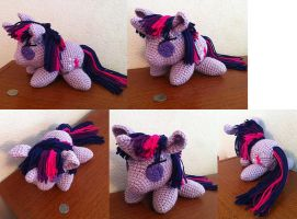 Twilight Sparkle - Commission - Amigurumi by theunknownsoul