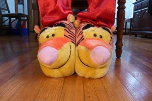 Tigger slippers, front by ExileLink