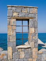 Stone Window Stock by Sassy-Stock
