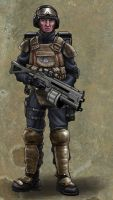 UNIT Artillery engineer done. by DarkAngelDTB