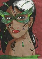 Exotic Face by Audriana