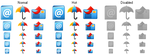 Small E-mail Icons by Sasha111111