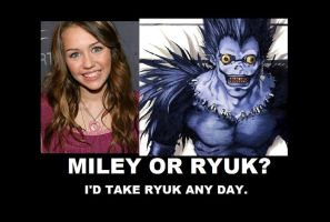 Ryuk or Miley by Macbeth-is-my-cat