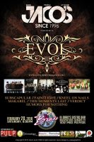 Jacos Evol Poster by peejaygraphics