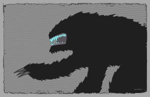 Attack the Block Alien by Hartter