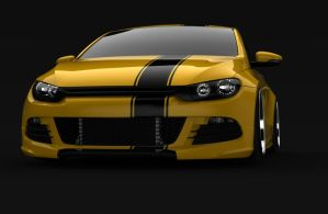 Scirocco render 4 by spittty