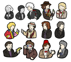 13 Doctors by myst-saphyr