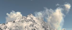 Living in the Alps by V3Digitimes
