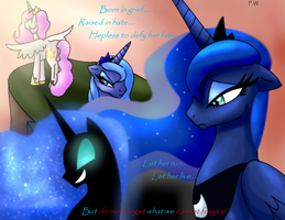Princess Luna-Not One of Us by Faith-Wolff