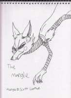 The Mangle sketch 2 by Kitty-of-Doom524