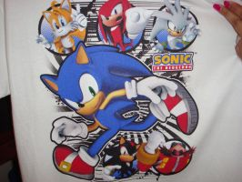 Sonic Shirt by Silversonicvxd