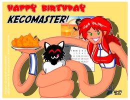 Happy Birthday Kecomaster by StretchyGalFan