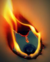 The burning hole by LucaHennig