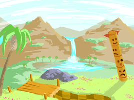 Green Hill Zone Valley by Ashman718