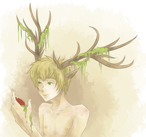 Hetalia: Deer Boy by LumpOfCoal