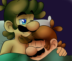 Your Safe Mario by raygirl12
