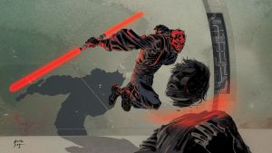 Darth Maul FANART colour by JCoelho