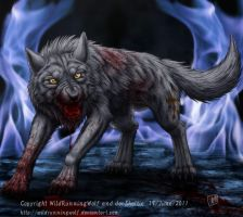 Wolf Blood by SheltieWolf