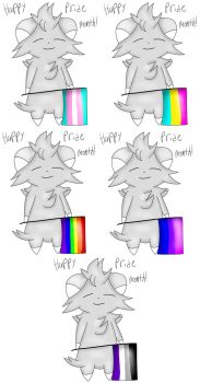 Pride Espurrs by SaggianWitch