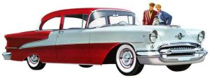1955 Oldsmobile Super 88 Two-Door Sedan by Kuma1692
