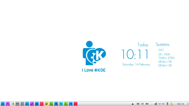 I Love #KDE by Baraary