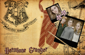 Hermione Granger Wallpaper by R-Lynn