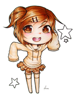 Brown Chibi by Katherineviehl