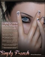 Simply French Nails and Resource by cosmosue