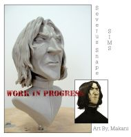 Severus Snape by ShapeStrong