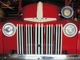 1942 Ford Fire Truck - 2 by Barn0wl