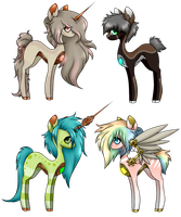 Clockwork Ponies - Offer to Adopt (CLOSED) by Reixxie