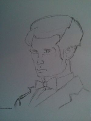 1th Doctor  Sketch 1