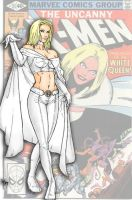 Emma Frost by mariow08