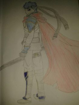 Request #1-Ike fire emblem Finished  by CajuExplosivo