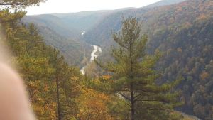 Canyon in Fall 14 by LordofNightsShadows
