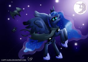 Nightmare Luna by Cappy-Aura