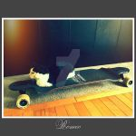 Romeo on Longboard cx by ChrisIsBack