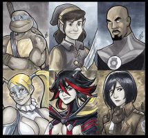 2016 Sketch Cards Vol.1 by BigChrisGallery
