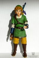 The Legend of Zelda - Link figure by AngelOfDarkness089