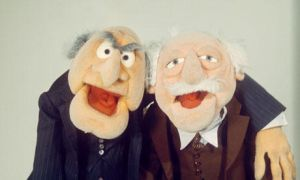 Waldorf and Statler by misspuggsley21