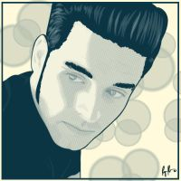 Chris Carrabba by rlhcreations