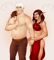 Sabu and Nema by noebelle