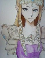 Princess Zelda by iNieko
