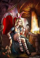 Alice in Wonderland by VirginieSiveton