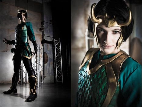Agent of Asgard -Loki cosplay by love-squad