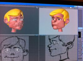 WIP 2D game character by Emme73