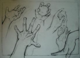 Hands Study by HeartGear