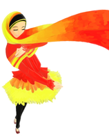 dancing of peace by cahaya-pemimpin