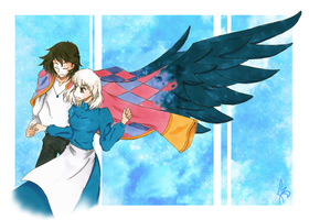 Howl's Moving Castle by ravenchaser
